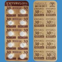 Pioglitazone吡格列酮片30mg「東和」(2型):100片