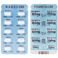 Fosmicin 磷霉素钙250:100粒