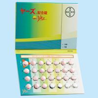 YAZ月经困难症治疗药:28片×3板