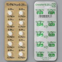 Onealfa阿法骨化醇片0.25μg(劇):100粒