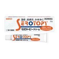 佐藤SATO Serotory 湿疹皮炎止痒乳膏:10g【2類】
