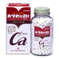 日本全药工业 防止骨质疏松强筋健骨钙片D:360粒【2類】