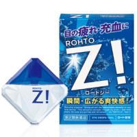 乐敦ROHTO超酷蓝魅Z!b 祛血丝防干痒升级版眼药水:12ml【2類】
