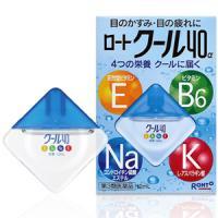 乐敦清凉40a眼药水 含4种营养素 :12ml【3類】