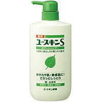 日本原装yuskin S紫苏叶保湿润滑沐浴露婴儿敏感用500ml