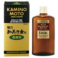日本原装kaminomoto/强力加美乃素A200ml育发生发液无香料
