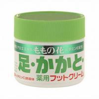 日本 自然桃之花超滋润保湿足部脚部护理膏按摩膏70g