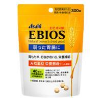 Asahi朝日 爱表斯锭天然啤酒酵母EBIOS调节胃肠 :300粒【指定医薬部外品】