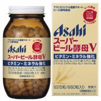 朝日Asahi 天然超级酵母片V保护肠胃:660粒