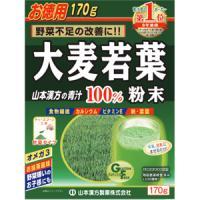山本汉方 大麦若葉 粉末100% 计量型:170g