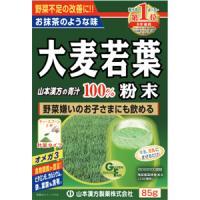 山本汉方 大麦若葉 粉末100% 计量型:85g