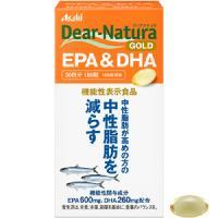 朝日Asahi Dear-Natura黄金EPA+DHA减少中性脂肪:180粒