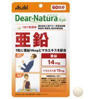 朝日Asahi Dear-Natura补锌:60粒