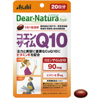 朝日Asahi Dear-Natura 活力美容辅酶Q10:20粒