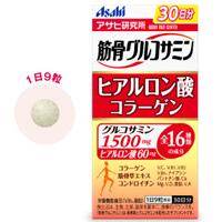 朝日Asahi 强筋健骨氨基葡萄糖+透明质酸:270粒