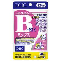 DHC的健康食品维生素B混合水果味(20日分):40粒