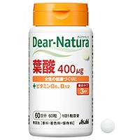 朝日Asahi Dear-Natura叶酸(罐装):30粒