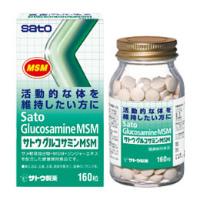 佐藤SATO 加强骨骼健康润滑骨关节 葡萄糖胺MSM:300粒