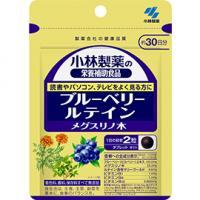 小林制药 护眼明目保健 蓝莓叶黄素胡萝卜素胶囊:60粒