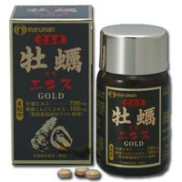 丸万Maruman广岛牡蛎精华片 GOLD:120粒