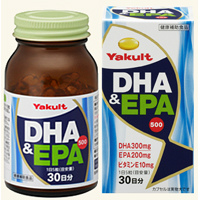 养乐多Yakult DHA&EPA500:150粒
