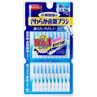 小林制药 柔软清除牙垢,残渣牙线 SS-M细款:20支