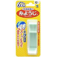 小林制药 清理污垢预防牙石牙线:10支