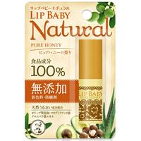 乐敦ROHTO 曼秀雷敦 LipBaby 润唇膏无添加100%食品成分蜂蜜 :4g