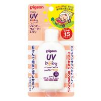 贝亲Pigeon婴幼儿抗UV防晒霜/乳液:60g SPF15