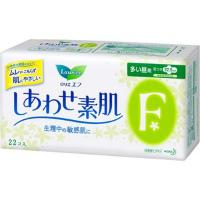 日本KAO 花王laurier乐而雅F日用卫生巾22.5cm 22片护翼