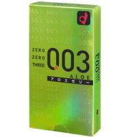 日本冈本 003安全套 避孕套  芦荟:10个装