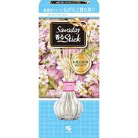 小林制药 室内空气清新剂芳香剂除臭消臭香薰棒70ml 清雅樱花