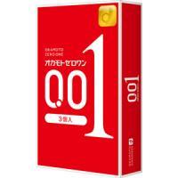 日本冈本001超薄安全套避孕套 :3只装/盒