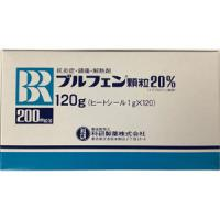 Brufen布洛芬颗粒20%:1g×120包