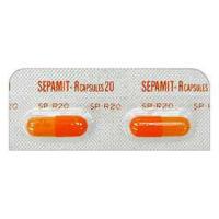 Sepamit-R硝苯地平胶囊20mg:100粒