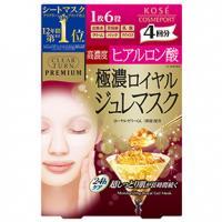 高丝KOSE黄金果冻高浓度玻尿酸保湿面膜:4片