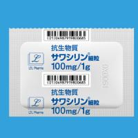 Sawacillin 阿莫新林西林10% :1g×100包
