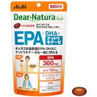 朝日Asahi Dear-Natura 欧米茄3系脂肪酸EPA+DHA纳豆激酶:240粒