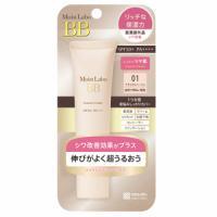 明色 Moist labo 美容液成分入BB霜SPF50+++自然米色:33g