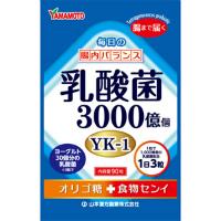 山本汉方 乳酸菌粒:90粒