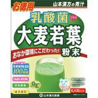 山本汉方 乳酸菌 大麦若葉:4g×30包