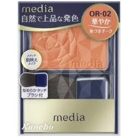 嘉娜宝 media 明彩腮红(OR-02):3.0g