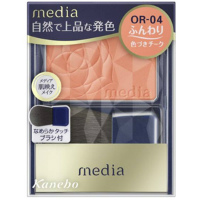 嘉娜宝 media 明彩腮红(OR-04):3.0g