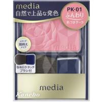 嘉娜宝 media 明彩腮红(PK-01):3.0g