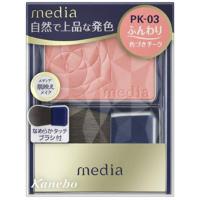嘉娜宝 media 明彩腮红(PK-03):3.0g