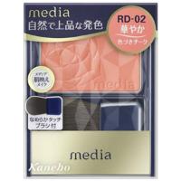 嘉娜宝 media 明彩腮红(RD-02):3.0g