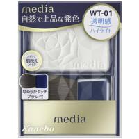 嘉娜宝 media 明彩腮红(WT-01):3.0g