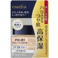 嘉娜宝 media 高保湿粉底霜PO-B1(明亮柔和肤色)SPF25+++:25g