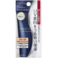 嘉娜宝 media 美白保湿粉底液OC-D1(健康自然肤色)SPF30+++:25g