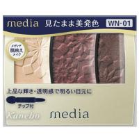 嘉娜宝 media 高品位高透明感眼影(WN-01):3.5g
